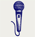 Sketch microphone vector | Price: 1 Credit (USD $1)