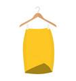 skirt template design fashion woman - women skirt vector image vector image