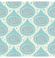 abstract seamless pattern with figs vector image
