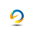 beach sport logo vector image