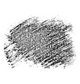 black speckled blob vector image vector image