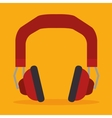 headset isolated design vector image vector image