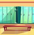 locker room seamless pattern vector image
