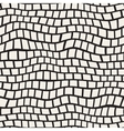Seamless Black And White Distorted Pavement vector image vector image