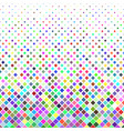 square pattern background - graphic from diagonal vector image vector image