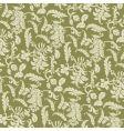 Floral vine pattern vector image