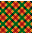 plaid kitchen seamless pattern vector image