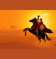 saladin ibn ayyub vector image