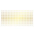sun golden halftone effect vector image