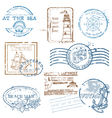 Set of Retro SEA stamps