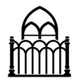 architecture icon simple style vector image vector image