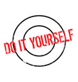 do it yourself rubber stamp vector image vector image