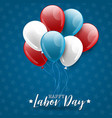 happy labor day usa national september holiday vector image vector image