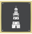 lighthouse icon vector image vector image