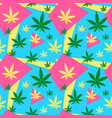 marijuanagreen weed dope seamless vector image vector image