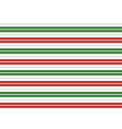 Red Green White Stripes Background vector image vector image