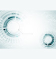 abstract futuristic high technology computer vector image