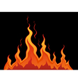Stylized fire vector image