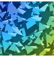Abstract Geometric Pattern Triangles 2 vector image