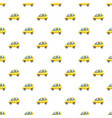 car pattern vector image vector image