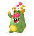 cartoon bear smiling head vector image vector image