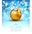 for merry christmas and happy new vector image vector image