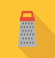 Grater simple flat vector image vector image