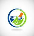 Mortar medicine pharmacy logo
