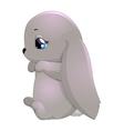 rabbit little vector image vector image