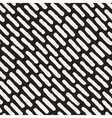 Seamless Hand Drawn Diagonal Rounded Lines vector image