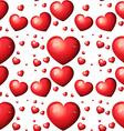 Seamless heart vector image vector image