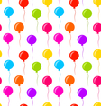 Seamless Texture Multicolored Balloons for Party vector image vector image