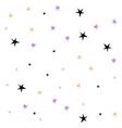 set cute hand drawn star vector image vector image