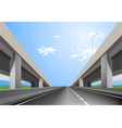 Superhighway vector image vector image