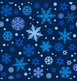 christmas seamless pattern with different shades vector image vector image
