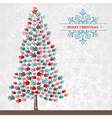 Diversity Christmas pine Tree hands vector image vector image