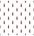 glass bottle of red wine icon flat style vector image vector image