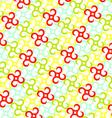 Pinwheels pattern vector image vector image