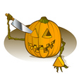 Pumpkin Carving vector image vector image