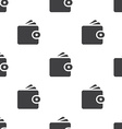 Wallet seamless pattern vector image vector image