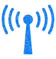wi-fi station grunge icon vector image vector image