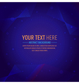 Abstract dark tone background outer space vector image vector image