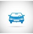 Automobile Symbol Car Silhouette Icon Design vector image vector image
