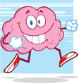 Healthy brain food cartoon