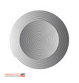 modern geometric design minimalistic art simple vector image vector image