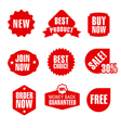 set of advertising and promotion banners vector image vector image
