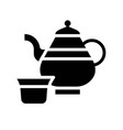 teapot ramadan related solid icon vector image vector image