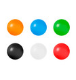 three-dimensional ball on a white backgroundsurro vector image