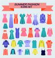 Fashion boutique for design woman vector image