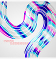abstract colorful lines concepts vector image vector image